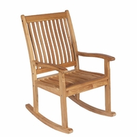 Royal Teak Highback Rocking Chair