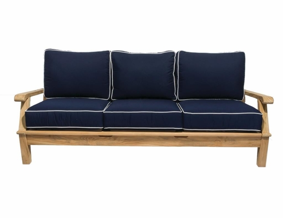 Royal Teak Miami 4 Piece Deep Seating Group - Out of Stock til End of Aug