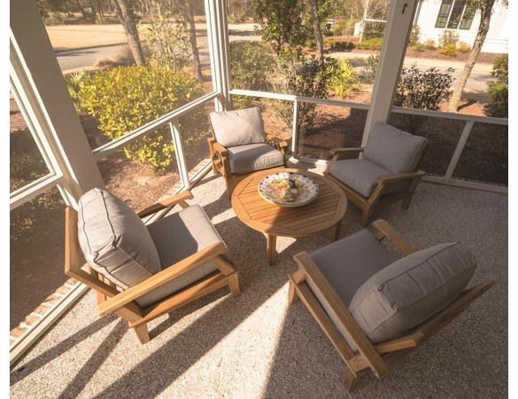 Royal Teak Miami 5 Piece Deep Seating Group