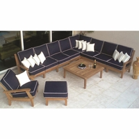 Royal Teak Miami Corner Sectional Set
