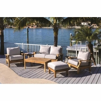 Royal Teak Miami Deep Seating Group - 6pc Set - Estimated Availability to Ship in July
