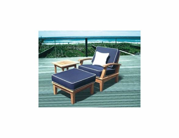 Royal Teak Miami Deep Seating Group - 6pc Set
