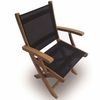 Royal Teak Sailmate Folding Arm Chair - Estimated Availability to Ship in Sept