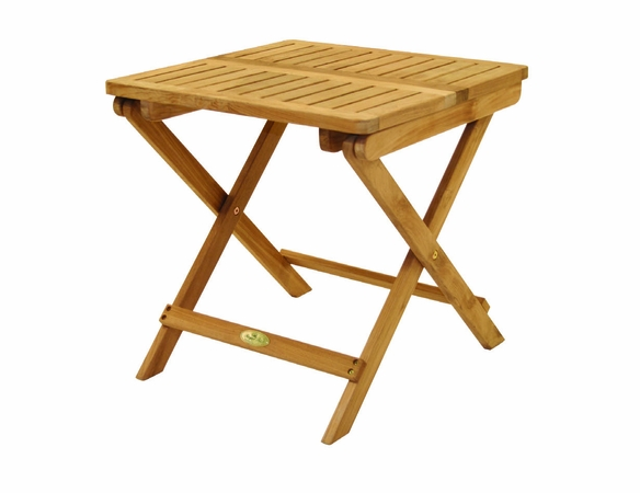 "Royal Teak Semi-Folding 20"" Picnic Table"