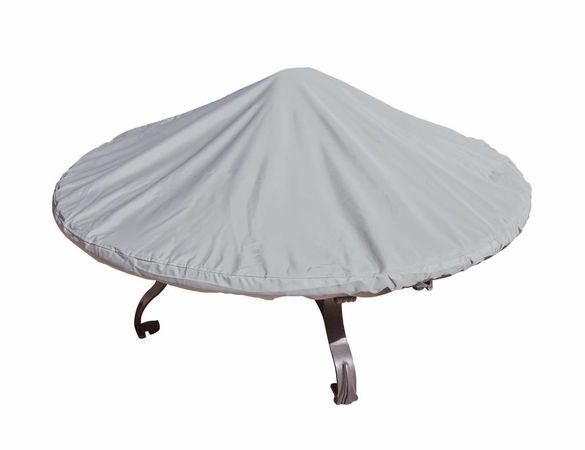 "Simply Shade 42"" - 60"" Round Chat Table and Fire Pit Cover"