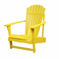 Somers Pointe Adirondack Chair - Yellow - Soon to be Discontinued