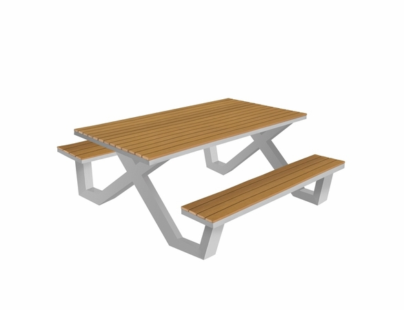 Source Furniture Vienna Traditional Picnic Table