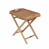 Royal Teak Serving Tray on Stand