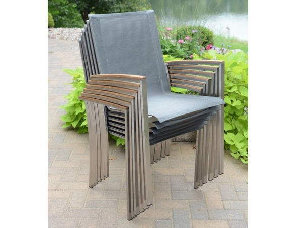 """Three Birds 40"""" Square Avanti Table and 4 Chairs Dining Set"""