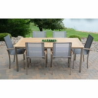 """Three Birds Avanti 72"""" Table with 6 Chairs Dining Set - Estimated Available to ship in Aug"""