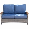 Three Birds Bella Wicker Loveseat