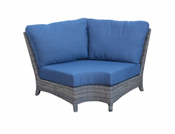 Three Birds Bella Wicker Sectional Corner Chair