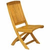 Three Birds Braxton Teak Folding Side & Arm Chair - Available to ship in Late June