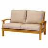 Three Birds Monterey Teak Deep Seating 2-Seater Loveseat - Estimated Available to ship in Aug