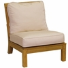 Three Birds Monterey Teak Sectional Armless Chair - Estimated Available to ship in July/Aug