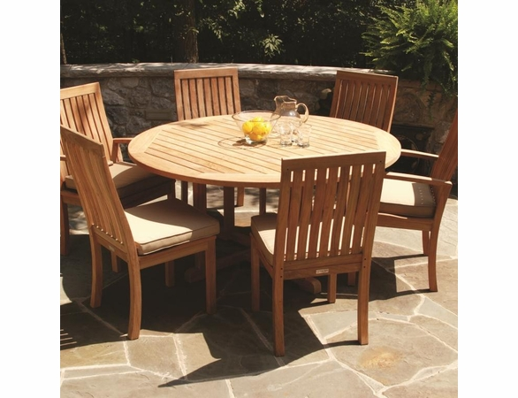 "Three Birds Oxford 60"" 7-Piece Dining Set - Estimated Available to ship in Aug"