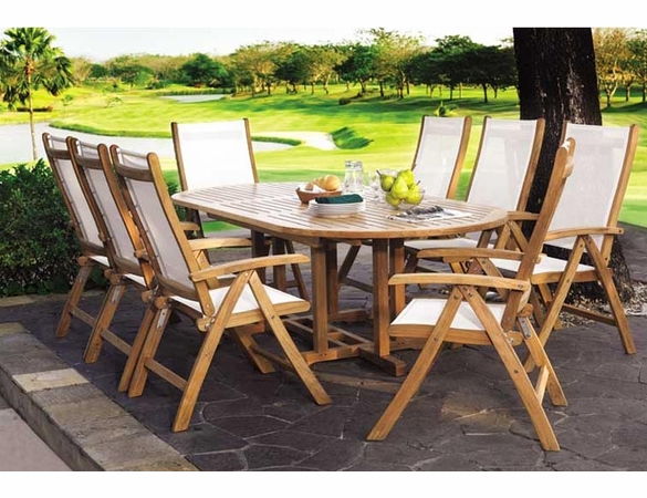 Three Birds Riviera 9-Piece Dining Set - Estimated Available to ship in July/Aug