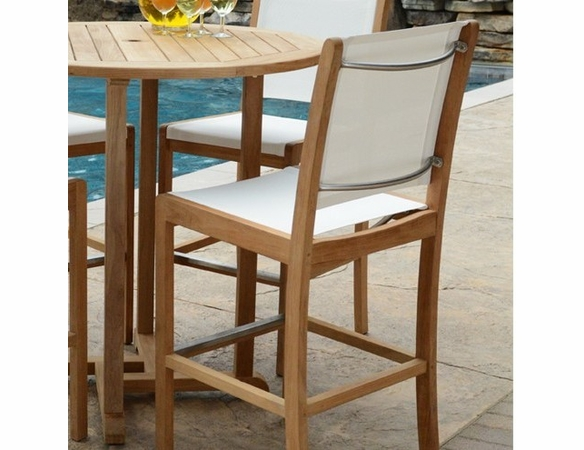 Three Birds Riviera Sling Bar Chair - Set of 2