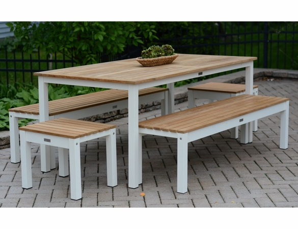 Three Birds Soho 7-Piece Dining Set - Available to ship in Aug