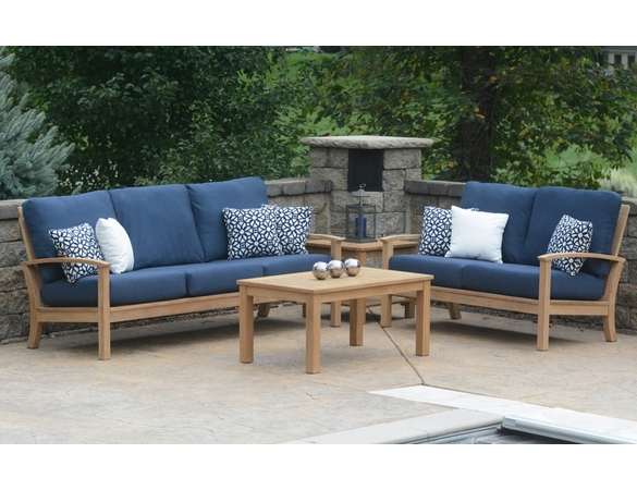 Three Birds St Lucia 4 Piece Deep Seating Set