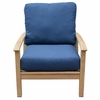 Three Birds St. Lucia Teak Deep Seating Arm Chair - Available in Mid Dec.