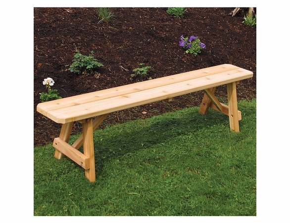 Traditional Cedar Picnic Bench Only (2',3',4', 5', 6', or 8')