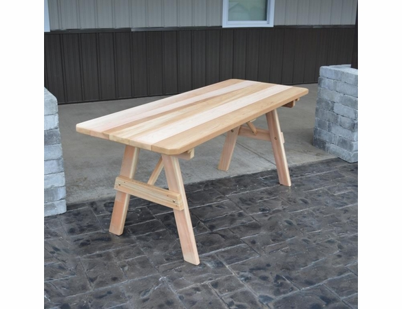 Traditional Cedar Table Only (4', 5', 6', or 8')