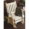 Traditional Pine English Glider Chair