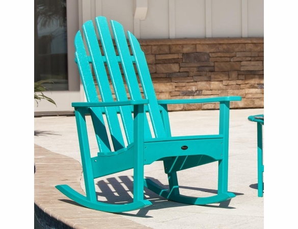 Trex Cape Cod Adirondack Outdoor Rocking Chair