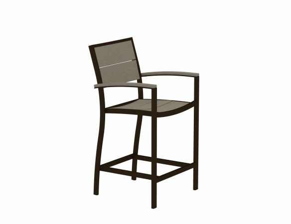 TREX Surf City Counter Arm Chair