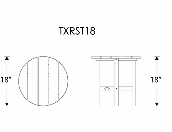 TREX® Yacht Club Adirondack Chair Set - Currently Unavailable