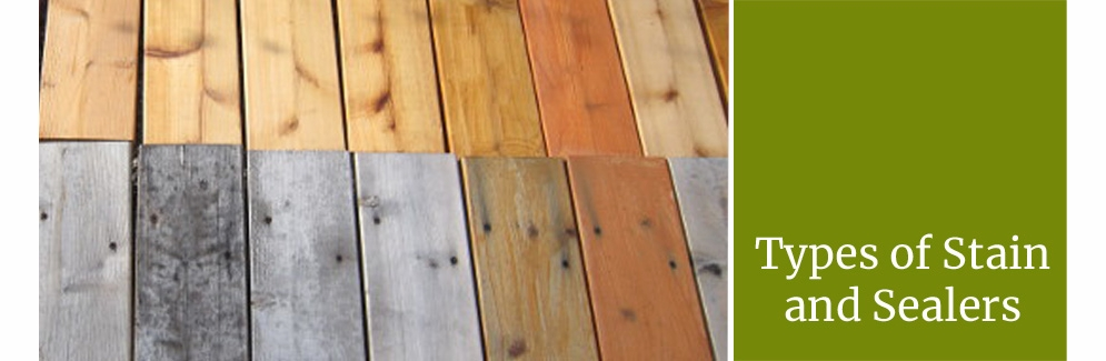 Types Of Stains And Sealers For Outdoor Furniture