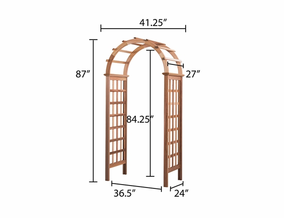 Victoria Cedar Arbor - Available to ship Jan 2020