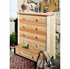 White Cedar Five Drawer Dresser - Not Currently Available