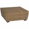Whitecraft by Woodard Saddleback Wicker Coffee Table