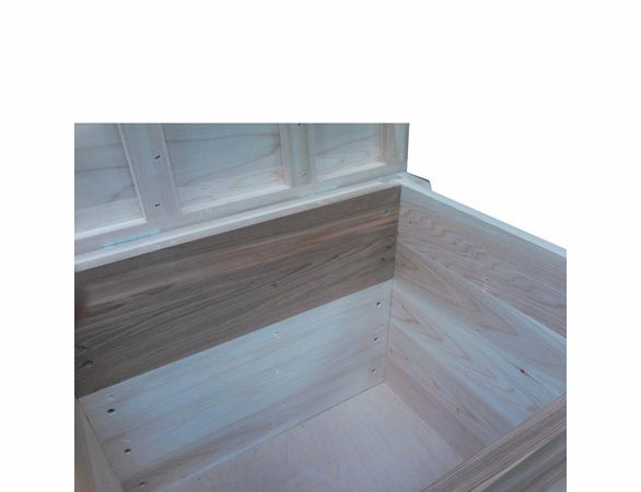 Wood Storage Bench - 6' - Exclusive Item - Not Currently Available