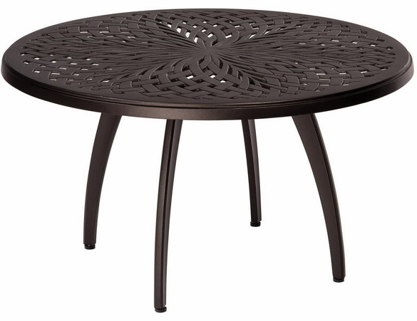 Woodard Aluminum Apollo Round Coffee Table