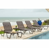 Woodard Baja Aluminum Strap Lounge Chair Set