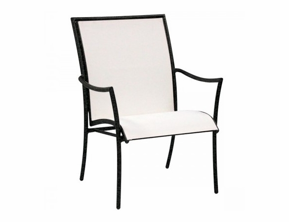 Woodard Dominica Aluminum Sling Stackable Arm Chair