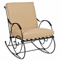 Woodard Wellington Wrought Iron Rocker