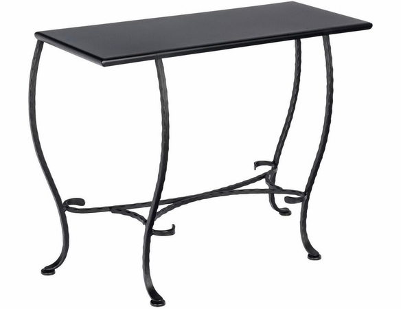 Woodard Wrought Iron Outdoor Sofa Table