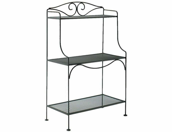 Woodard Wrought Iron Standard Baker's Rack
