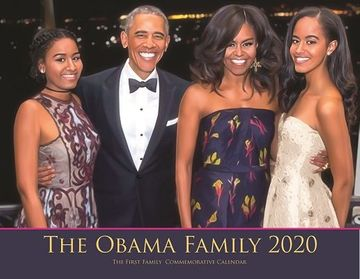 2020 Obama Family (Family First) 13 Month Calendar