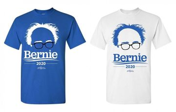 Bernie 2020 Hair & Glasses T-Shirt