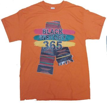 Black History 365 Orange T-Shirt