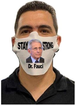 Dr. Fauci Safety Face Mask