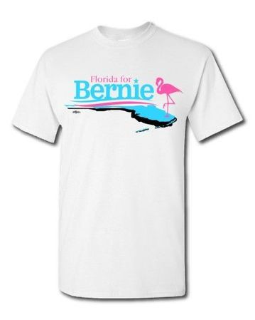 Campaign Workers Special -Florida for Bernie T-Shirt Only $5 Each!