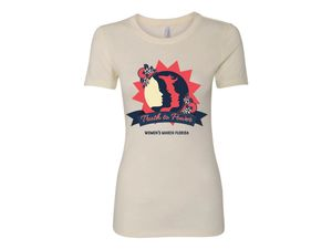 """Ladies """"Truth to Power"""" Women's March Florida T-shirt"""
