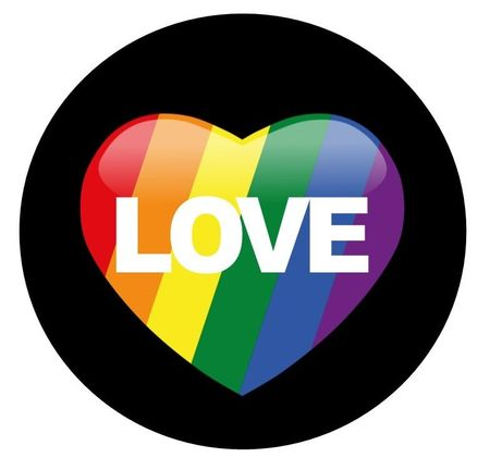 Love Pride Button