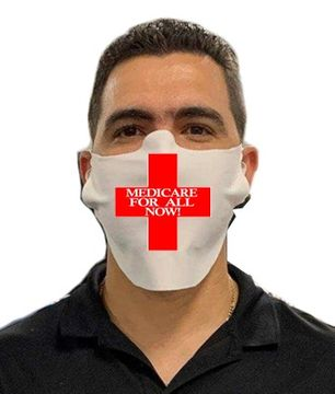 Red Cross Medicare For All Safety Face Mask